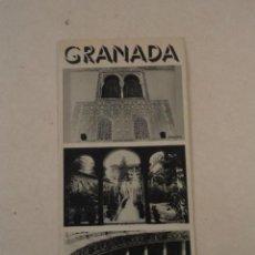 Brochures de tourisme: ANDALUCÍA - GRANADA. Lote 73162223