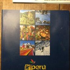 Folhetos de turismo: GUÍA VIAJES PERÚ PAÍS DE LOS INCAS INFORMACIÓN TURISMO. Lote 73416290