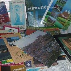 Folletos de turismo: LOTE DE 52 GUIA Y FOLLETOS DE ESPAÑA 4 GIBRALTAR 1 DE MEXICO. Lote 74381903