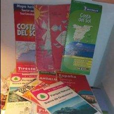 Folletos de turismo: LOTE DE 4 GUIA MICHELIN Y FIRESTONE Y OTRAS DE ESPAÑA . Lote 74376287