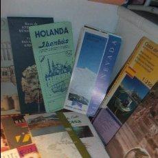 Folletos de turismo: LOTE DE 14 GUIA Y FOLLETOS DE ESPAÑA . Lote 74376703