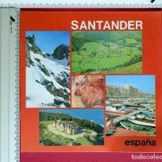 Folletos de turismo: FOLLETO DE TURISMO DE SANTANDER AÑO 1983 8 PAGINAS 22X 22 CM. Lote 76274451