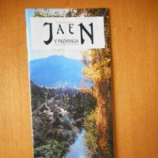 Folletos de turismo: JAÉN Y PROVINCIA. FOLLETO PUBLICITARIO JUNTA DE ANDALUCÍA. 24 PÁGINAS. 1988. Lote 77553577