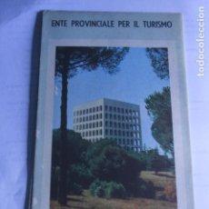 Folletos de turismo: FOLLETO TURISTICO ROMA 60´S. Lote 78216465