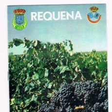 Folletos de turismo: REQUENA - 1977 - FIESTA DE VENDIMIA. Lote 78404837