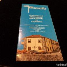 Folletos de turismo: PUBLICIDAD EXPO TENERIFE. Lote 79348545