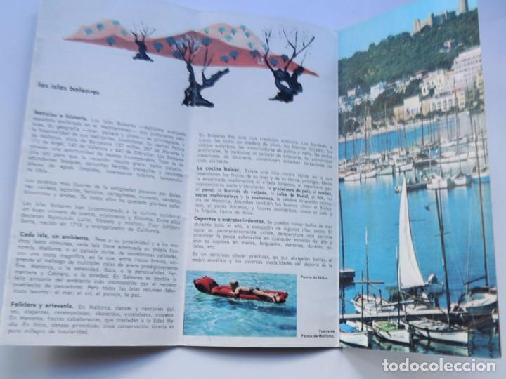Folletos de turismo: FOLLETO TURISMO / ISLAS BALEARES / AÑOS 60 - Foto 2 - 79562641