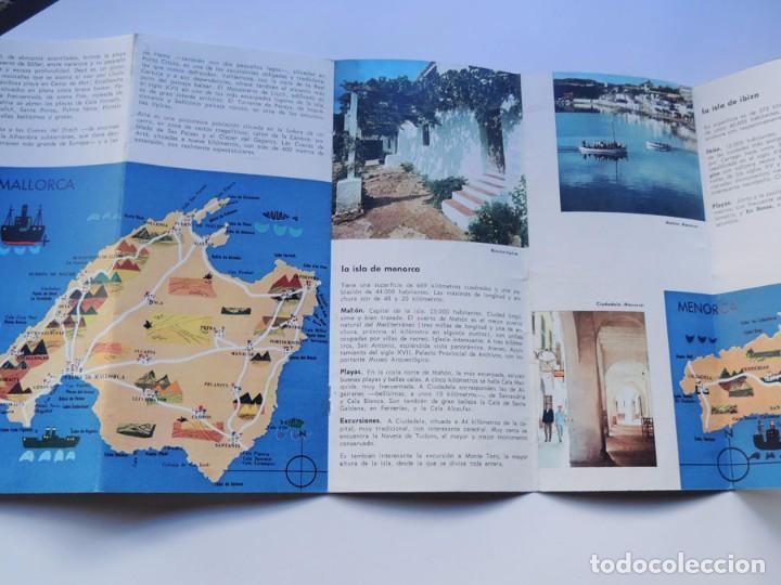Folletos de turismo: FOLLETO TURISMO / ISLAS BALEARES / AÑOS 60 - Foto 3 - 79562641