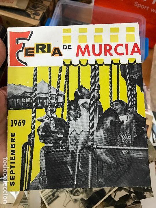 FERIA MURCIA SEPTIEMBRE 1969 PROGRAMA (Coleccionismo - Folletos de Turismo)