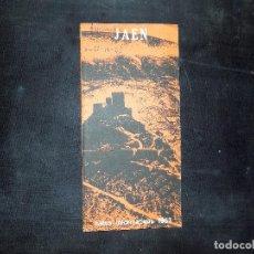 Folletos de turismo: FOLLETO DE TURISMO E INFORMACION DE JAEN . 1968. BUEN ESTADO.. Lote 80480945