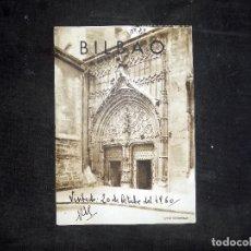 Folletos de turismo: FOLLETO DE TURISMO. IGLESIA DE SANTIAGO.BILBAO. 1960. BUEN ESTADO.. Lote 80482649