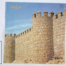 Folletos de turismo: GUÍA / FOLLETO TURÍSTICO - ÁVILA - MINISTERIO DE TRANSPORTES, TURISMO Y COMUNICACIONES, 1985. Lote 80564934