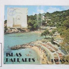 Folletos de turismo: GUÍA / FOLLETO TURÍSTICO - ISLAS BALEARES -MINISTERIO DE TRANSPORTES, TURISMO Y COMUNICACIONES, 1985. Lote 80565518