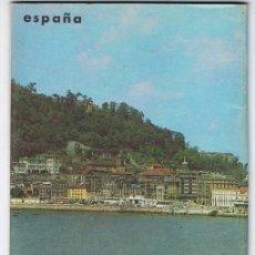 Folletos de turismo: FOLLETO TURÍSTICO DE LA CORNISA CANTÁBRICA. AÑOS 60-70. CON MAPA. Lote 81050140