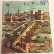 Brochures de tourisme: FOLLETO TURISMO VALENCIA. BHA BANCO HISPANO AMERICANO. Lote 81243032