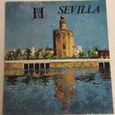 Brochures de tourisme: FOLLETO TURISMO SEVILLA.BHA BANCO HISPANO AMERICANO. EN ALEMAN. Lote 81243208