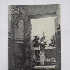 Folletos de turismo: CAMINOS DE ESPAÑA. RUTA XLIV. MÉRIDA COMPAÑÍA ESPAÑOLA DE PENICILINA, 1960 . Lote 81550128