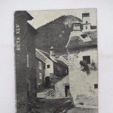 Folletos de turismo: CAMINOS DE ESPAÑA. RUTA XLV. PIRINEO ARAGONÉS I COMPAÑÍA ESPAÑOLA DE PENICILINA, 1960. Lote 81555140
