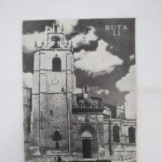 Folletos de turismo: CAMINOS DE ESPAÑA. RUTA LI. PALENCIA COMPAÑÍA ESPAÑOLA DE PENICILINA, 1960. Lote 81555408