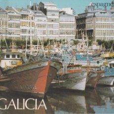 Folletos de turismo: FOLLETO GALICIA. ESPAGNE (EN FRANCES). MINISTERIO DE TRANSPORTE, TURISMO Y COMUNICACIONES. 1984. Lote 82135272