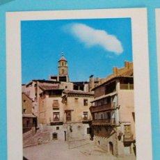 Folletos de turismo: COLECCIÓN ESPAÑA MONUMENTAL. FICHA DEL PARADOR NACIONAL TERUEL. HAROFARMA, S/F.. Lote 83232072