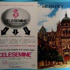 Folletos de turismo: COLECCIÓN ESPAÑA MONUMENTAL. TRÍPTICO SALAMANCA + FICHA PARADOR ENRIQUE II. HAROFARMA, S/F.. Lote 83267480