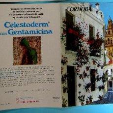 Folletos de turismo: COLECCIÓN ESPAÑA MONUMENTAL. TRÍPTICO CÓRDOBA + FICHA PARADOR LA ARRUZAFA. HAROFARMA, S/F.. Lote 83271884
