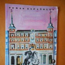 Folletos de turismo: MADRID, CAPITAL DE ESPAÑA. SERIE TEMAS ESPAÑOLES, DE PUBLICACIONES ESPAÑOLAS. 34 PÁGINAS. AÑO 1961. Lote 83646308