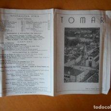 Folletos de turismo: TOMAR, PORTUGAL. FOLLETO PUBLICITARIO AÑOS 50 EN PORTUGUÉS.. Lote 83647324
