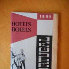 Folletos de turismo: PORTUGAL. FOLLETO PUBLICITARIO GUÍA DE HOTELES Y PRECIOS AÑO 1955 EN PORTUGUÉS. 94 PÁGINAS. Lote 83647424
