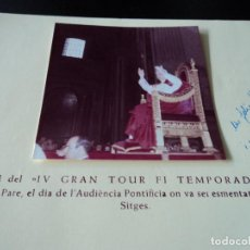 Folletos de turismo: IV GRAN TOUR FIN DE TEMPORADA VIATGES SITGES AUTOCARS MONASTERIO 1968. Lote 84478660
