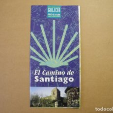 Folletos de turismo: EL CAMINO DE SANTIAGO. DESPLEGABLE. GALICIA. XACOBEO 99.. Lote 85555936