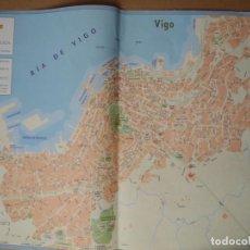 Folletos de turismo: PLANO VIGO. Lote 85587748