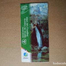 Folletos de turismo: GUÍA PRÀCTICA. PARQUE NATURAL SIERRA DE CAZORLA SEGURA Y LAS VILLAS. ANDALUCÍA. DESPLEGABLE. Lote 85633816