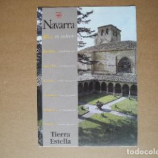 Folletos de turismo: NAVARRA. TIERRA ESTELLA. 1998 DESPLEGABLE. Lote 85699340