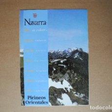 Folletos de turismo: NAVARRA. PIRINEOS ORIENTALES.. Lote 85700012