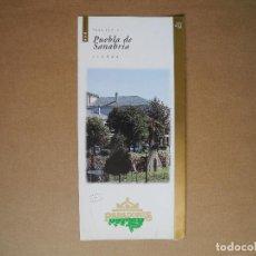 Folletos de turismo: PARADOR DE PUEBLA DE SANABRIA. ZAMORA. TRÍPTICO.. Lote 85769292