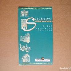 Folletos de turismo: SALAMANCA. PLANO TURÍSTICO. DESPLEGABLE. . Lote 85772704