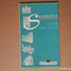 Folletos de turismo: SALAMANCA. PLANO TURÍSTICO. DESPLEGABLE.. Lote 85799432