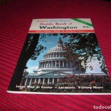 Folletos de turismo: FOLLETO GUIDE BOOK OF WASHINGTON. Lote 86214116