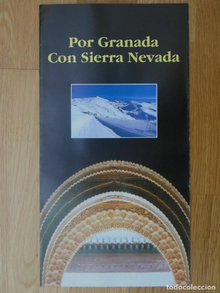 Folletos de turismo: Folleto Campeonatos del Mundo de esqui alpino Sierra Nevada 95 - Foto 1 - 86472044