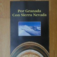 Folletos de turismo: FOLLETO CAMPEONATOS DEL MUNDO DE ESQUI ALPINO SIERRA NEVADA 95. Lote 86472044