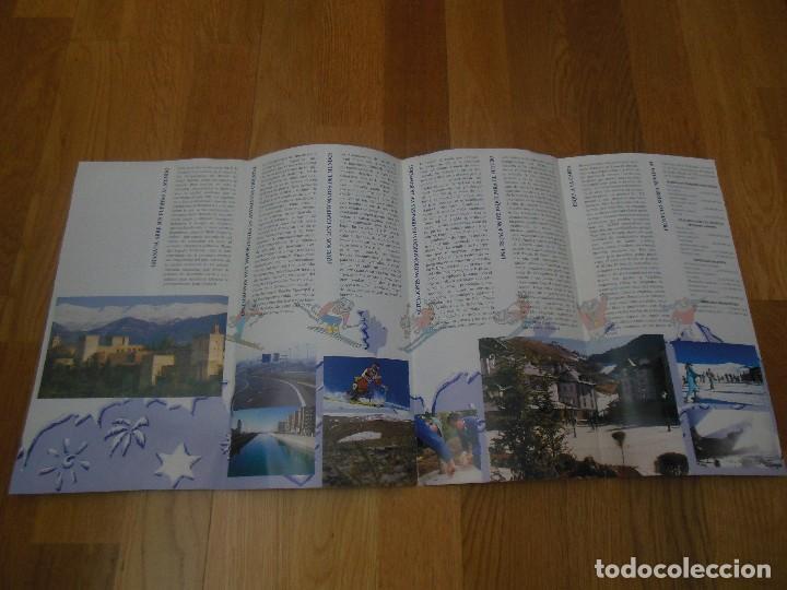 Folletos de turismo: Folleto Sierra Nevada 95 Campeonatos del Mundo de esquí Alpino - Foto 3 - 86472548