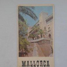 Folletos de turismo: FOLLETO DE TURISMO. MALLORCA. ISLAS BALEARES.. Lote 87281332