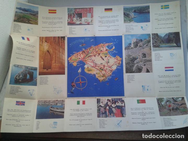 Folletos de turismo: Folleto de turismo. Mallorca. Islas Baleares. - Foto 4 - 87281332