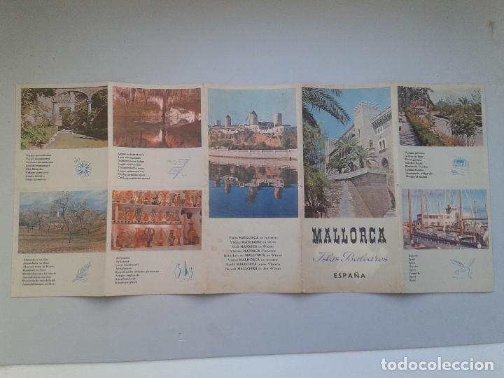 Folletos de turismo: Folleto de turismo. Mallorca. Islas Baleares. - Foto 5 - 87281332