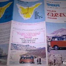 Folletos de turismo: TENERIFE. VIAJES CYRASA. Lote 87371316
