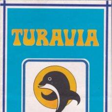 Folletos de turismo: FOLLETO TURISTICO TURAVIA. PROGRAMA EXCURSIONES GRAN CANARIA, LANZAROTE Y TENERIFE (1979). Lote 87842100
