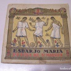 Folletos de turismo: PROGRAMA. ESBARJO MARIÁ. FESTES DE SANT MIQUEL DELS SANTS, VIC. JULIOL DE 1922. . Lote 88111492