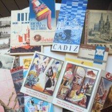 Folletos de turismo: ANTIGUOS FOLLETOS DE TURISMO DE ESPAÑA. Lote 90096820